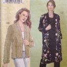 Vogue Sewing Pattern No 8089 Todays Fit Ladies Jacket Bust Size 46-55 Uncut