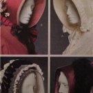 McCalls Sewing Pattern 5129 Misses Ladies Historical Bonnet Size 21 1/2 - 23 1/2