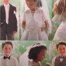 Butterick Sewing Pattern 4059 Girls Boys Bolero Vest Necktie Bag Veil UC Sz 6-8