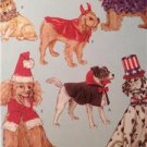 McCalls Sewing Pattern 4612 Pet Dog Costume Santa Dracula Sizes XS-L Uncut