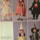 Simplicity Sewing Pattern 2571 Toddler Dracula Bo Peep Wizard Costumes Sz 1/2-4