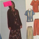 Simplicity Sewing Pattern 8226 Misses Womens Top Skirt Pants Scarf Size L-XL UC