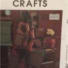 "McCalls Sewing Pattern 4941 Fat Quarters Rustic Pillow Quilt 35x52"" Uncut"