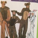 Simplicity Sewing Pattern 4457 Adult Mens Misses Rabbit Animal Costumes Size S-L