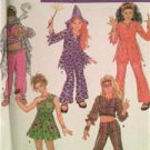 Simplicity Sewing Pattern 4466 Kids Costumes Hippy Bollywood Devil Witch S: 7-14