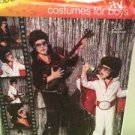 Simplicity Sewing Pattern 2880 / 0514 Boys Elvis Jumpsuit Costumes Size S-XL UC