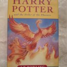 Harry Potter and the Order of the Phoenix Hardcover – January 1, 2003 UK Import
