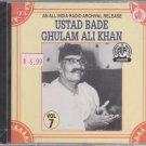 All India Radio Archival Release Ust Bade Ghulam Ali Khan vol 7  [Cd]