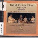 Ust Rasid Khan Live In Concert    [2Cds set] Raga : Yaman , Sohni Thumri, ,Desh