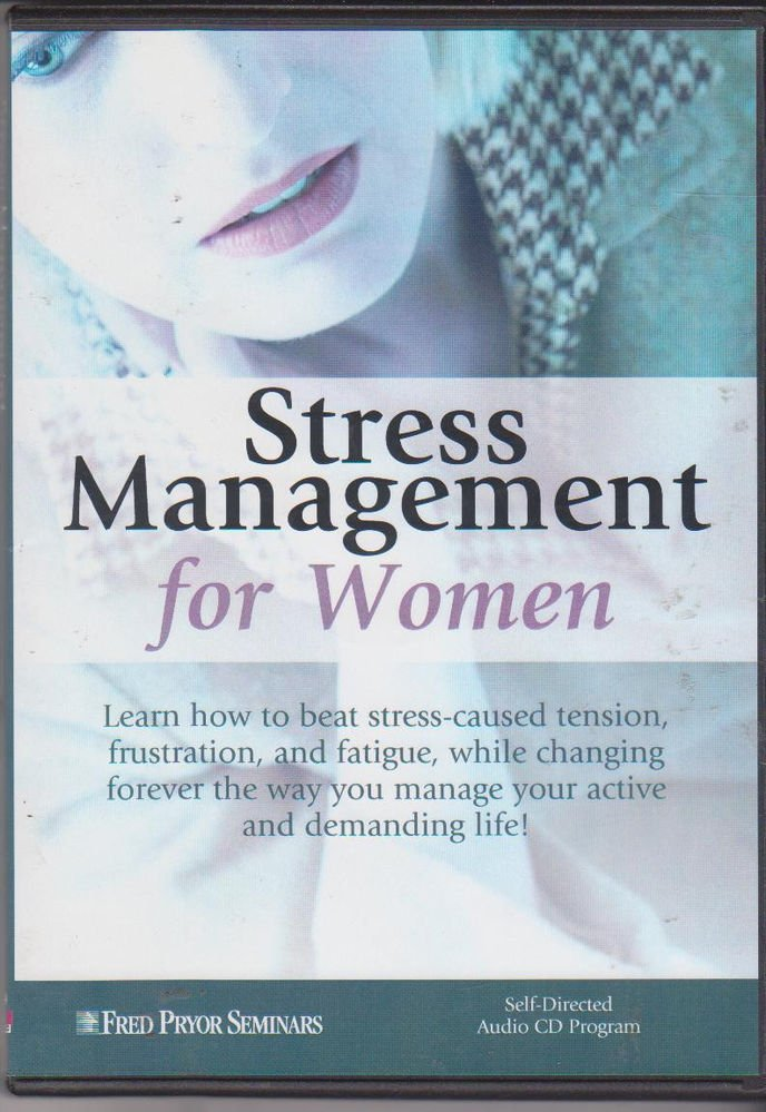 Stree Management For Women By Fred Pryor Seminars [4 Cd set  ] IN English