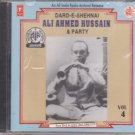 Dard E Shehnai  By Ali Ahmed Hussain & Party vol 4 [Cd] All India radio Release