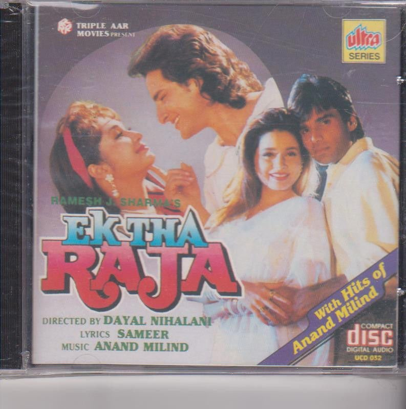 Ek Tha Raja + Hits Of Anand Milind - Saif Ali Khan  [Cd ] Music : Anand Milind
