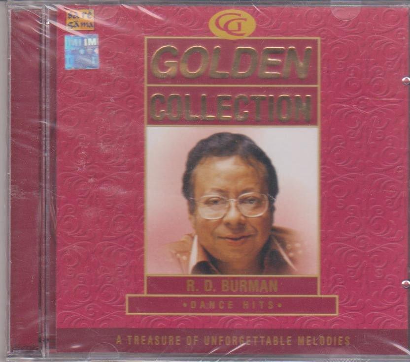 Golden Collection - R D Burman - dance Hits  [Cd] A Treasure Of Unforgetteble