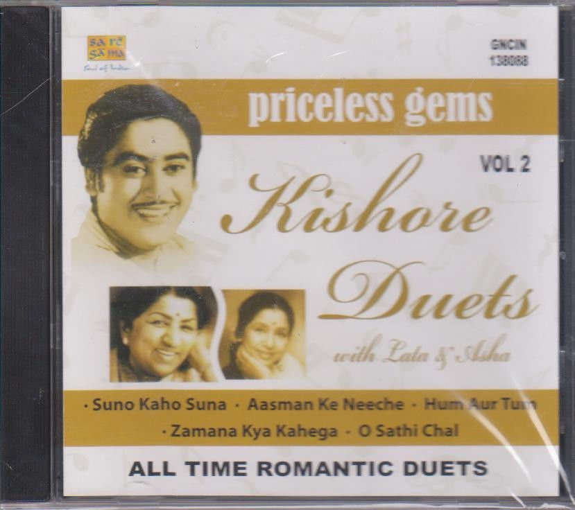 Priceless Gems - Kishore Duets With Lata & Asha  [Cd] Made In USA Cd