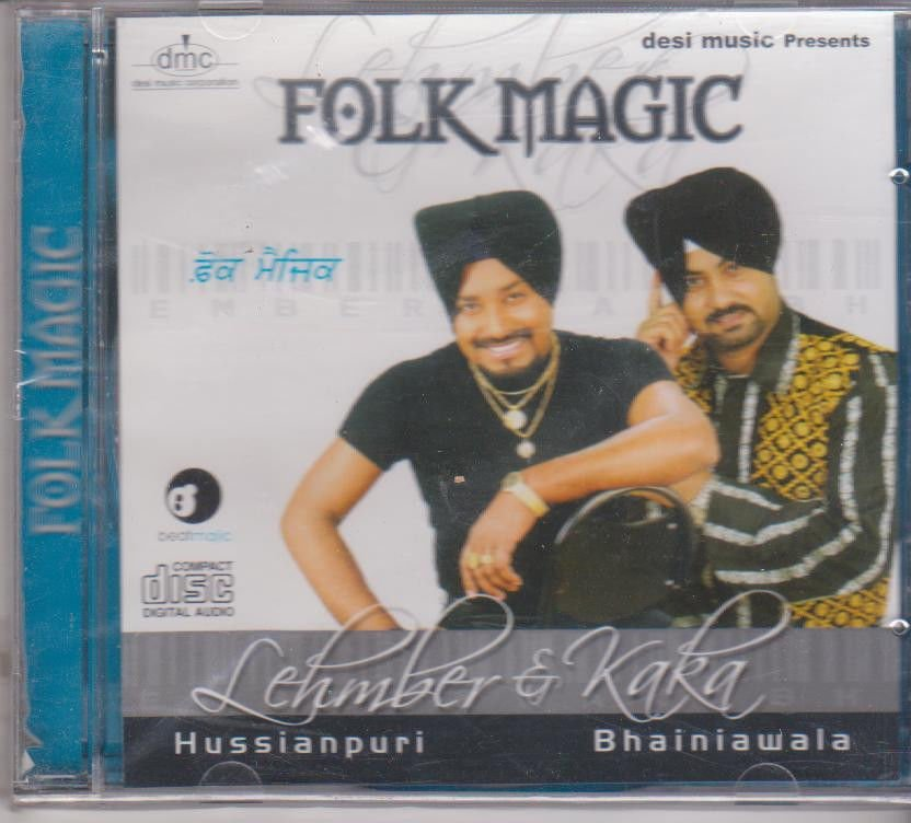 Folk Magic By Lehmber HUssainpuri & kaka Bhainiawala  [Cd]