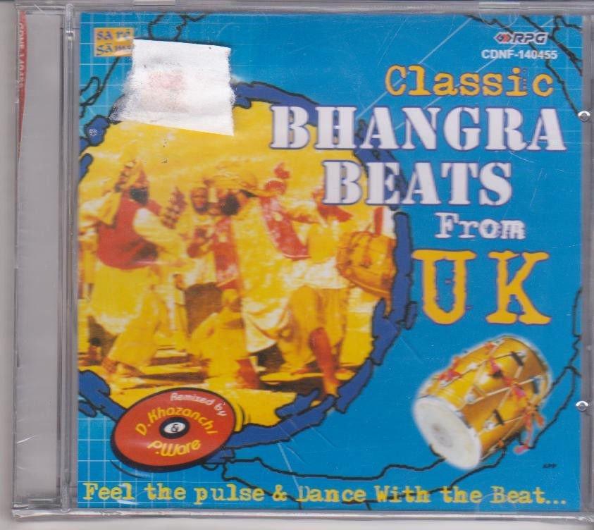 Classic Bhangra Beats from UK  [Cd ] Hazara Singh Ramta, Kuldip manak,A S Kang