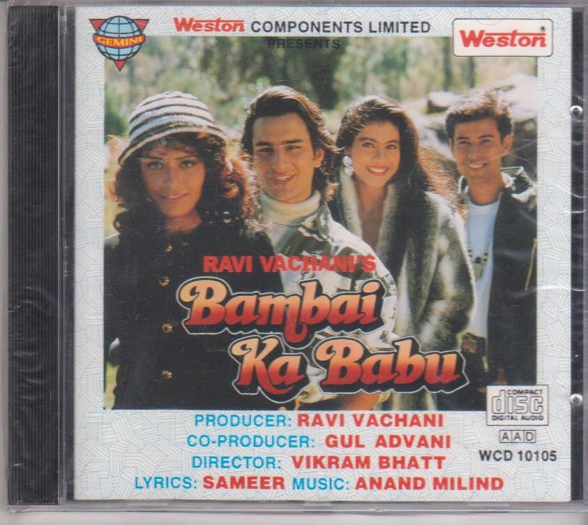 Bambai ka babu - Saif Ali Khan  [Cd ] Music : Anand Milind