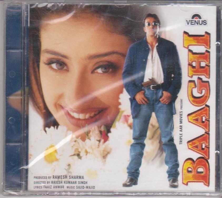 Baaghi - sanjay Dutt  [Cd ] Music : Sajid wajid