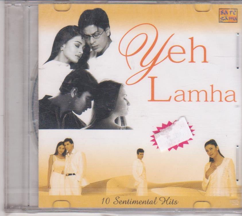 Yeh lamha - 10 Sentimental Hits [Cd ] Bollywood super Hits