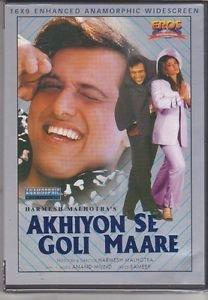 Akhiyon Se Goli Maare - Govinda , Raveena Tandon  [Dvd]