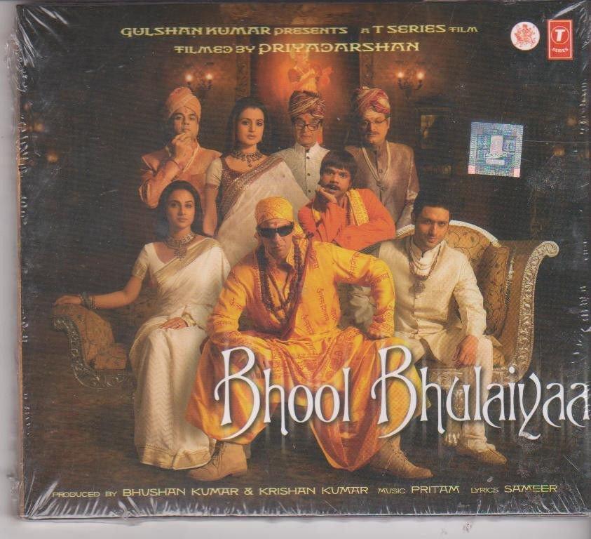 Bhool Bhulaiyaa - akshay Kumar , vidya balan  [Cd] Music : Pritam