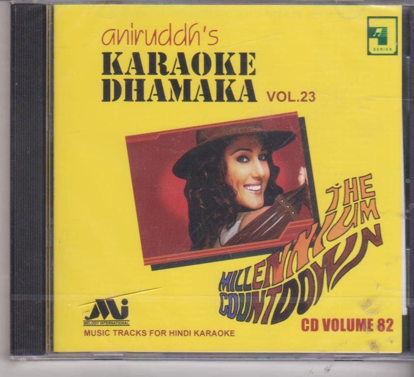 Aniruddh's Karaoke dhamaka Vol 23   [Cd] Millenium Countdown Cd Volume 82