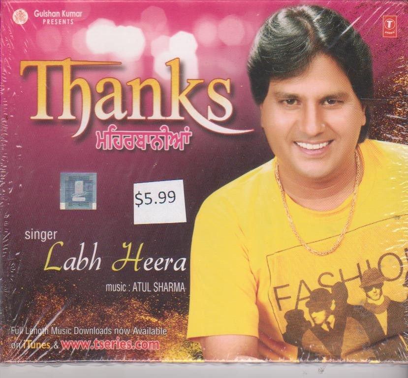 Thanks By Labh Heera   [Cd ]  punjabi