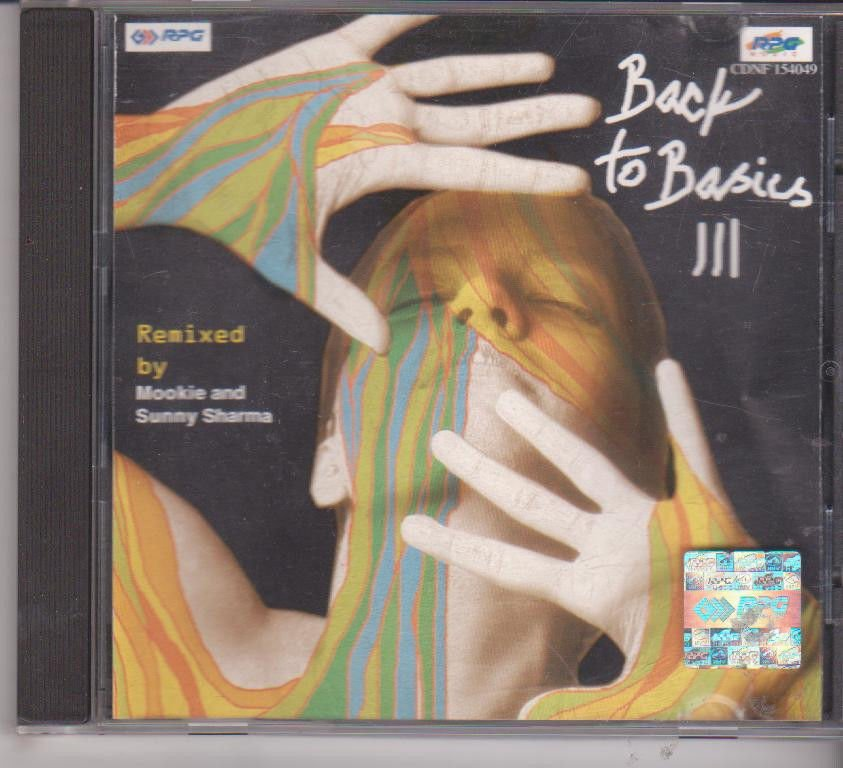Back To Basic III [Cd]  Remix by Mookie and Sunny sharma