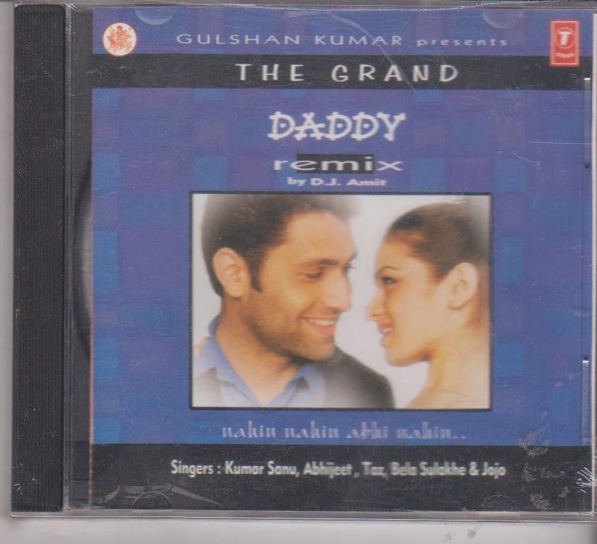 The Grand daddy remix   [Cd]  Music : D J Amit - Kumar sanu , abhijeet , Bela