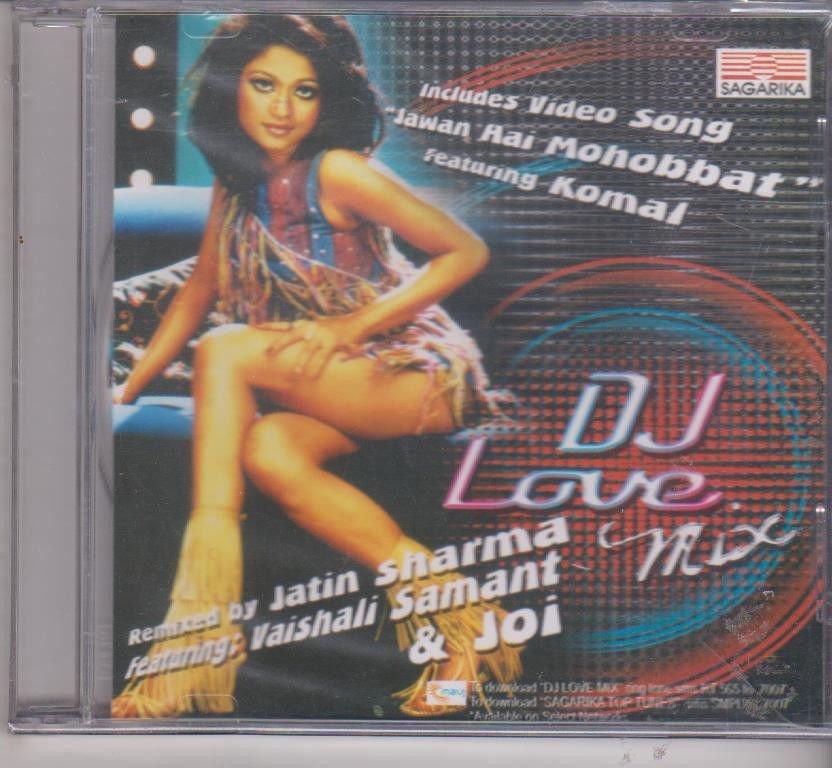 Dj Love Mix - Vaishali samant & jatin Sharma  [Cd]