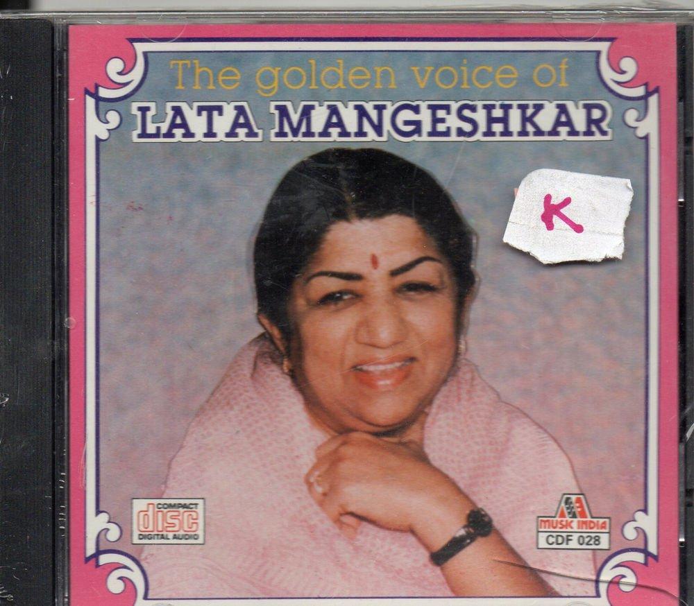 The Golden Voice of Lata mangeshkar   [Cd] Music India Released