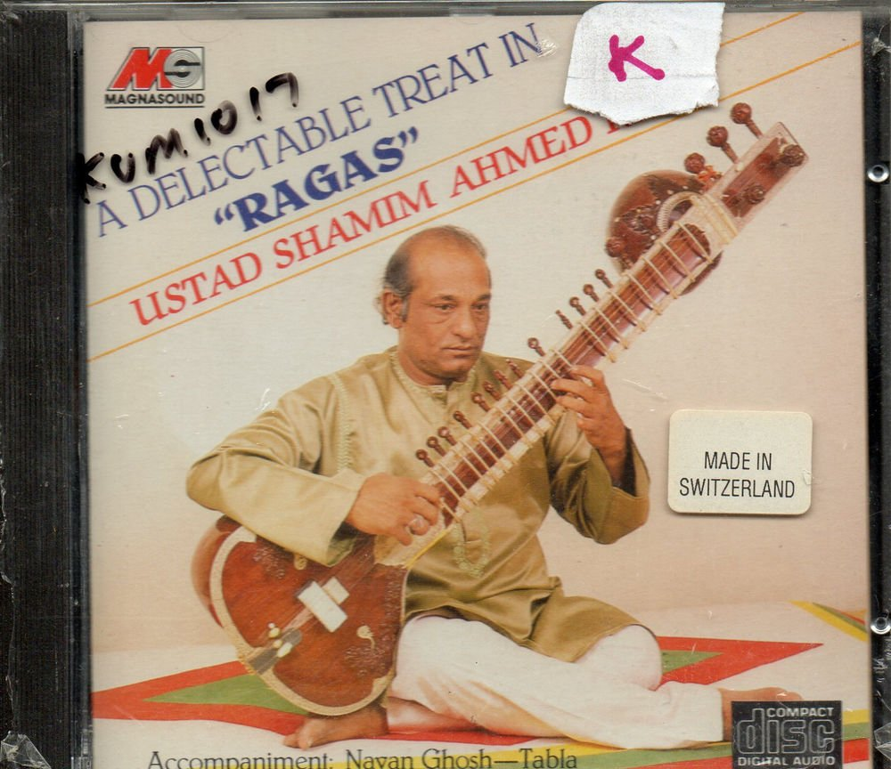 A Delectable Treat In ragas - Ust Shamim Ahmed Khan  [Cd ]