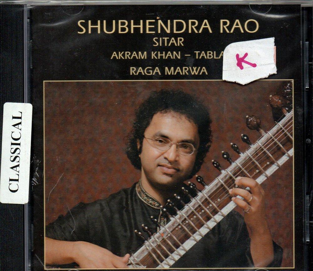 Shubhendra Rao - Sitar - Tabla - akram Khan [Cd ] Raga Marwa