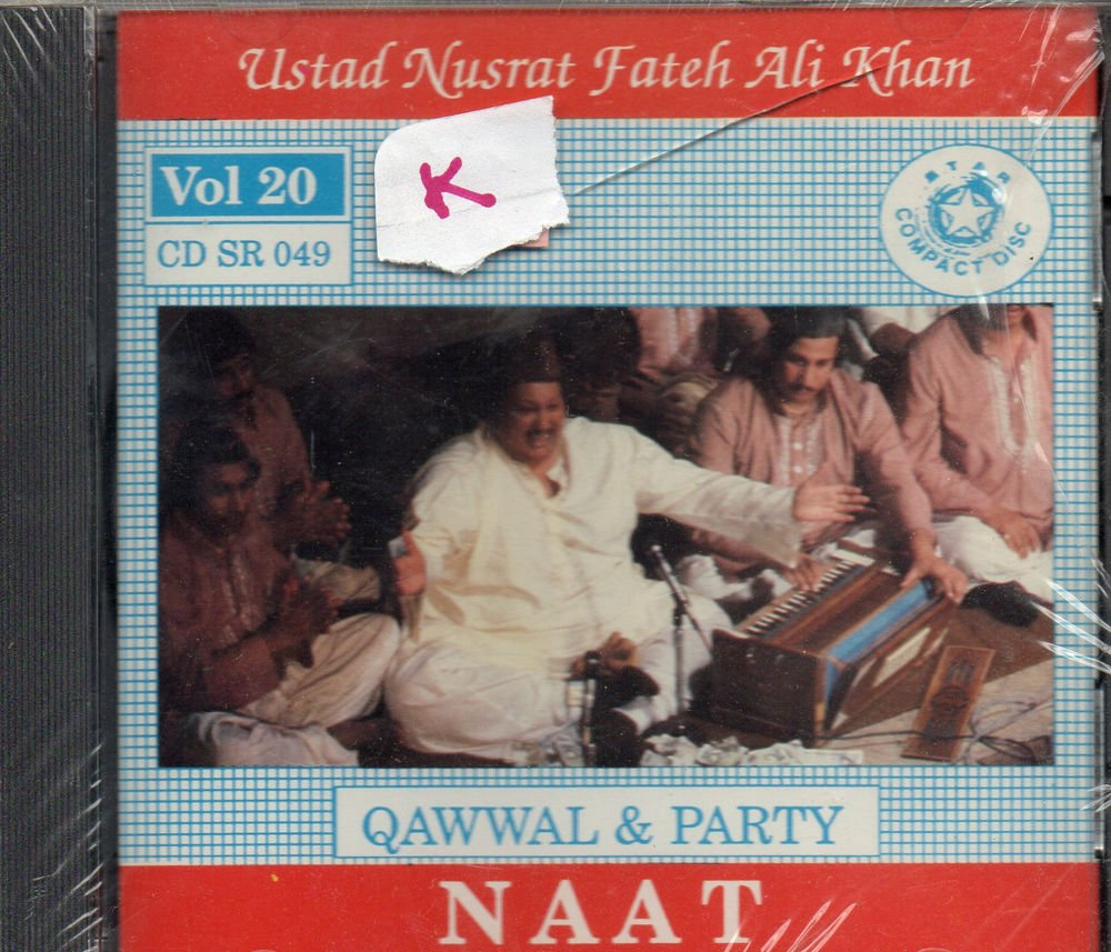 Naat By Ust Nusrat Fateh Ali Khan [Cd ] OSA - Released UK Made Cd