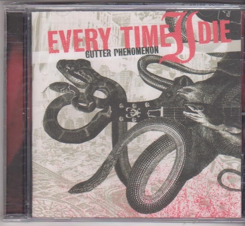 Gutter Phenomenon by Every Time I Die [Cd ]