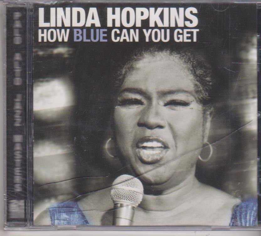 How Blue Can You Get by Linda Hopkins  [Cd ]