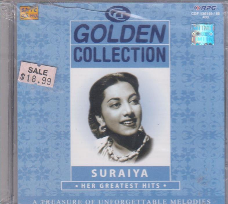 Golden  collection Suraiya  [2Cd's Set] Evergreen Hits Of Suraiya