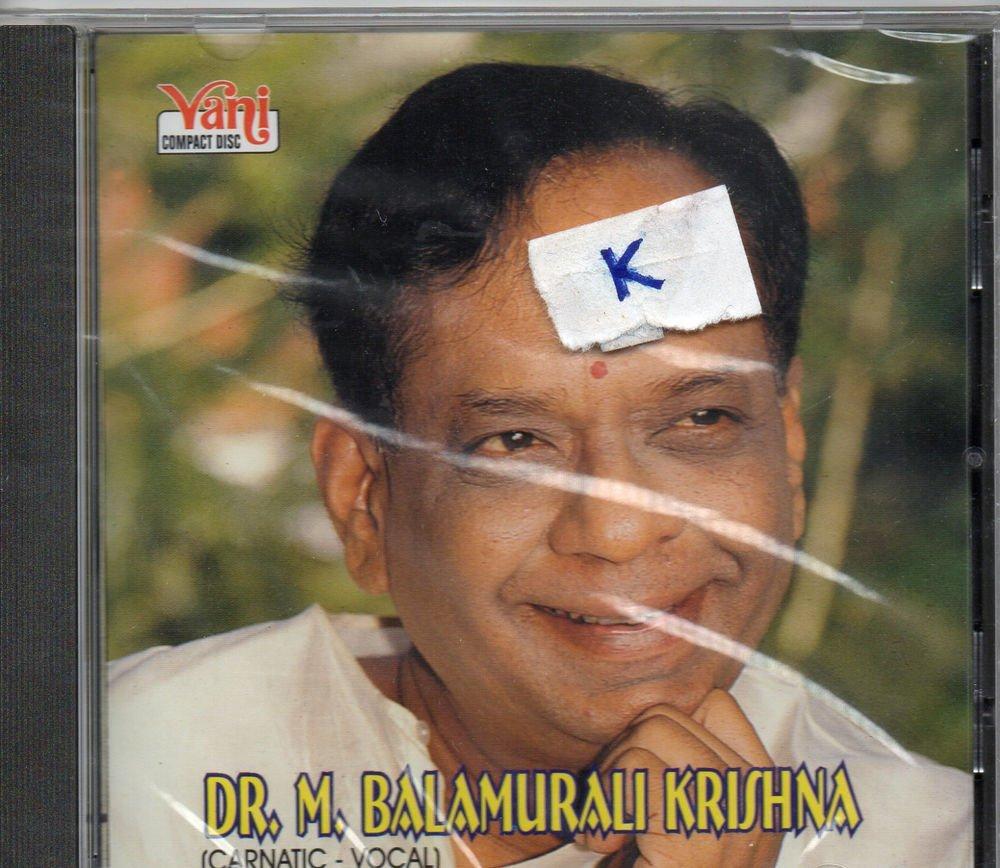 Dr M Balamurlikrishna - carnatic Classical  [Cd] Vani Released