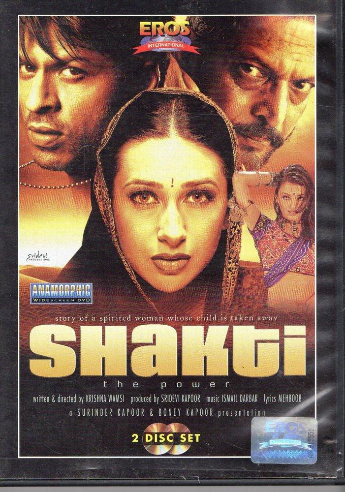 Shakti - shah rukh Khan , nana patekar   [2Dvd Set] Original Eros Released