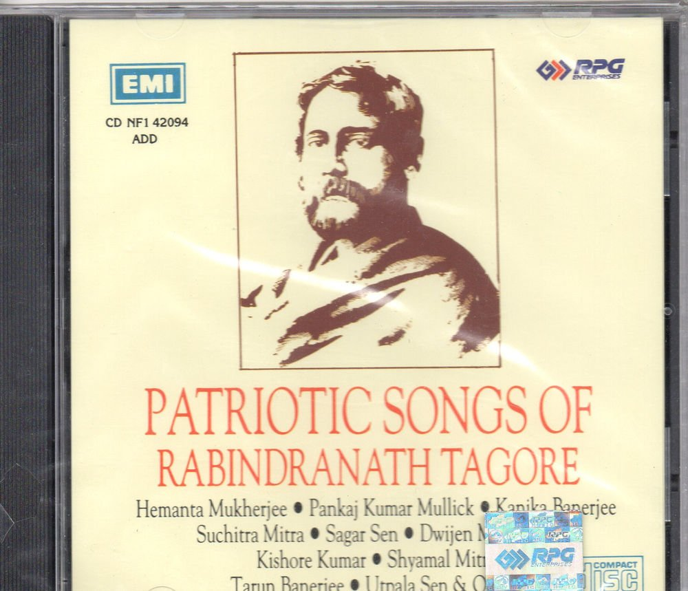 Patriotic Songs Of Rabindranath Tagore [Cd] Uk Made Cd