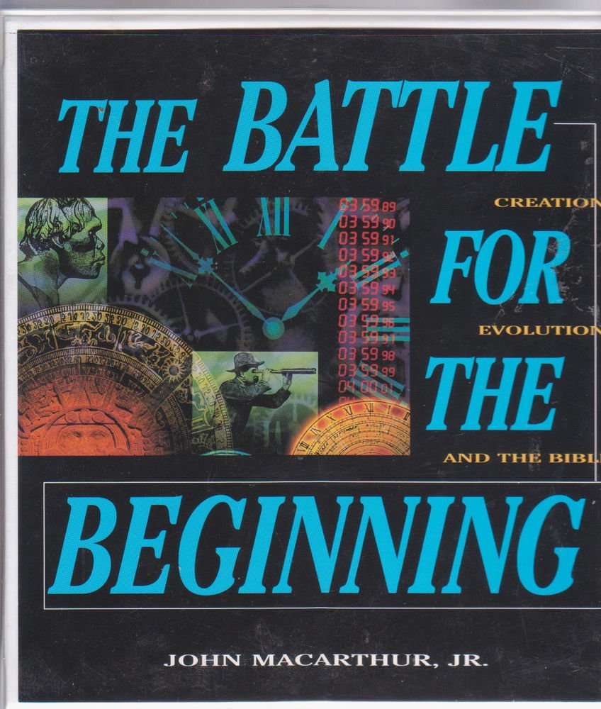 The battle For the Beginning - Creation,Evolution[12 Tapes Set] John Macarthur -