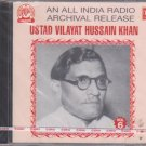 Ust Vilayat Hussain Khan Vol 6  [Cd] All India radio Archival release - Vocal