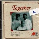 Together - T H Vikku Vinayakram , Uma Shankar, Selva Ganesh   [Cd]