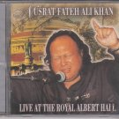 Ust Nusrat Fateh Ali Khan Live at the Royal Albert Hall   [Cd] UK made Cd
