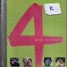 Best of Four 4 [Song Dvd] Hits of Daag , doosra Aadmi , Kaala Pathhar, Noorie