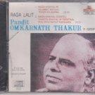 Pandit Omkarnath Thakur -In Concert [Cd] Raga lalit , Bada Khayal