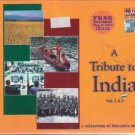 A Tribute To India - A Collection Of Ptriotic Songs[2Cds Set] + India Flag Free