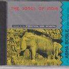The Songs Of India -Remixed International noise Orchestra[Cd] Bollywood remixes