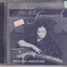 Phir Wohi farmaaish - Ghazals & geet By begum akhtar   [Cd]