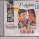Parichay / Khushboo / Kinara  [cd]  Soundtrack of Classic Films